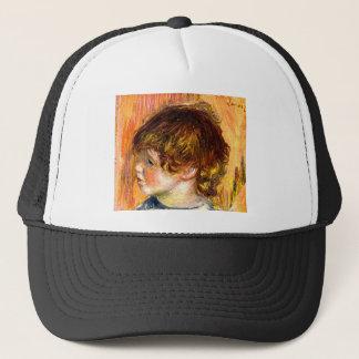 Head of a young girl by Pierre Renoir Trucker Hat