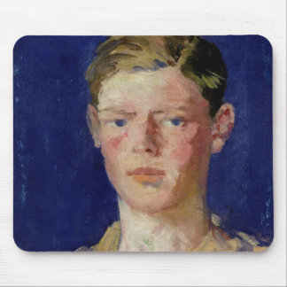 Head of a Young Man Mouse Pads