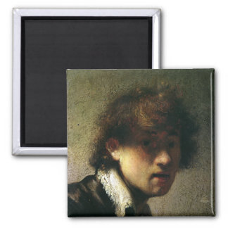 Head of a Young Man or Self Portrait, 1629 Fridge Magnet