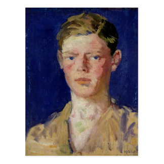 Head of a Young Man Post Card