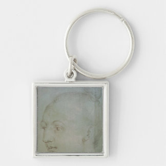 Head of a Young Woman Keychain