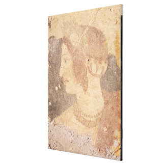 Head of a Young Woman, Velia Canvas Print