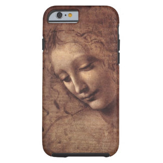 Head of a Young Woman with Tousled Hair (Leda) Tough iPhone 6 Case