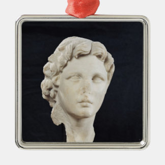 Head of Alexander the Great Metal Ornament