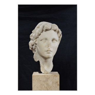 Head of Alexander the Great Print