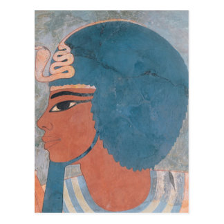 Head of Amenophis III from the tomb of Onsou Postcard