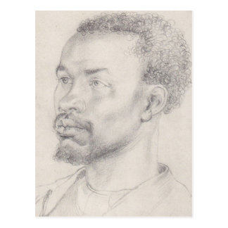 Head of an African by Durer Post Card