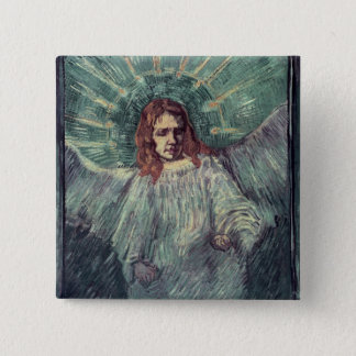 Head of an Angel, after Rembrandt, 1889 Button