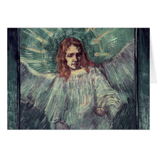 Head of an Angel, after Rembrandt, 1889 Card