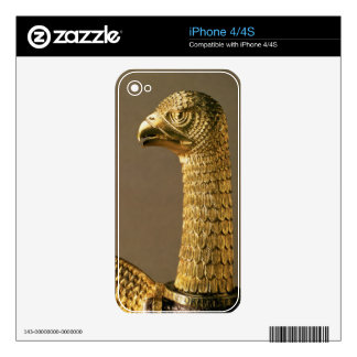 Head of an eagle, detail of 12th century ornamenta skin for the iPhone 4S