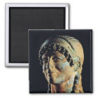 Head of an Etruscan Woman Magnet