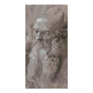 Head of an Old Man by Albrecht Durer Card