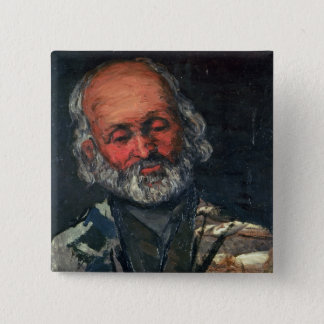 Head of an Old Man, c.1866 Button