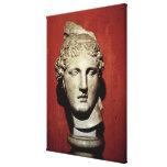 Head of Apollo from Ephesus Canvas Prints