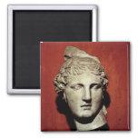 Head of Apollo from Ephesus Fridge Magnet