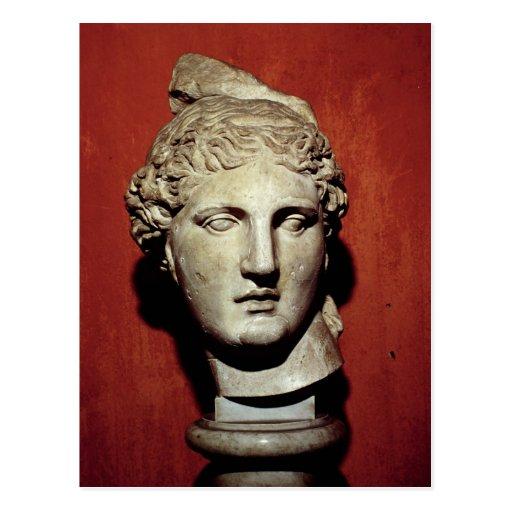 Head of Apollo from Ephesus Postcards