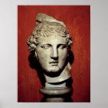 Head of Apollo from Ephesus Posters