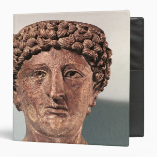 Head of Apollo, from Lillebonne 3 Ring Binders