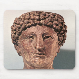 Head of Apollo, from Lillebonne Mouse Pad