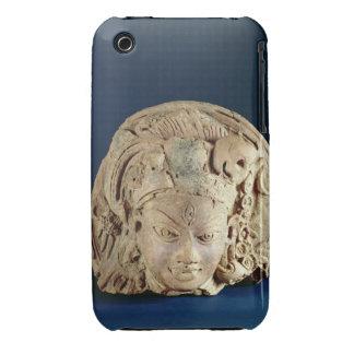 Head of Ardhanarisvara, Newal, Unnao (terracotta) iPhone 3 Case