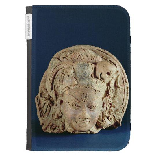 Head of Ardhanarisvara, Newal, Unnao (terracotta) Kindle Folio Cases