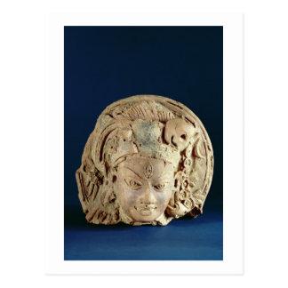 Head of Ardhanarisvara, Newal, Unnao (terracotta) Postcard