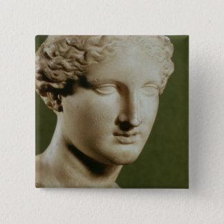 Head of Artemis Pinback Button
