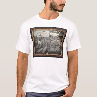 Head of Auburn Ravine, 1852 by Joseph Blaney Stark T-Shirt