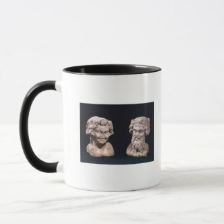 Head of Bacchus and satyr from a hermatic pillar Mug