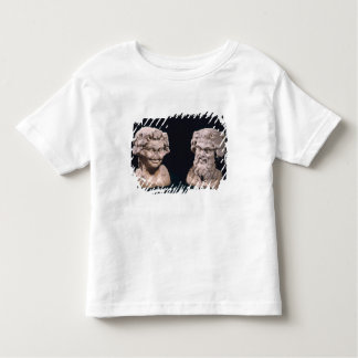 Head of Bacchus and satyr from a hermatic pillar Toddler T-shirt