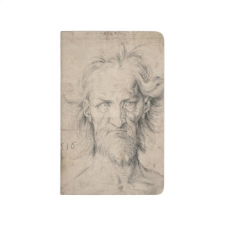Head of Bearded Old Man (Saturn) by Durer Journal