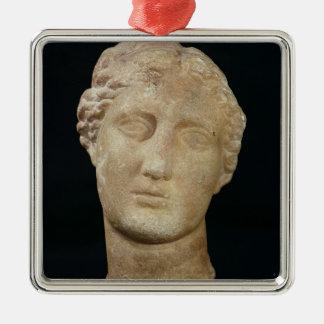 Head of Berenice II Metal Ornament