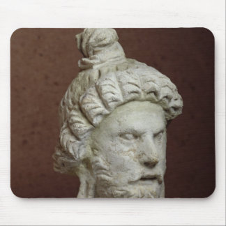 Head of Brahma, Afghanistan, 2nd-4th century Mouse Pad