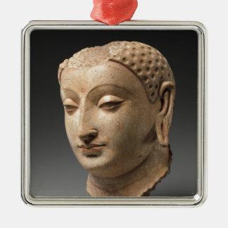 Head of Buddha - 5th–6th century Metal Ornament