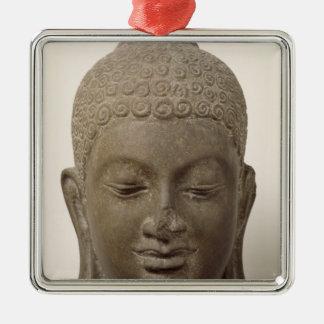 Head of Buddha, from Vat Romlok Metal Ornament