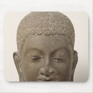 Head of Buddha, from Vat Romlok Mouse Pad