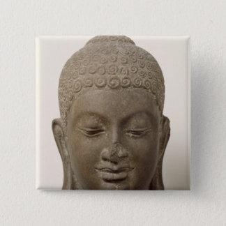 Head of Buddha, from Vat Romlok Pinback Button