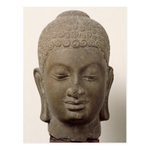 Head of Buddha, from Vat Romlok Postcard