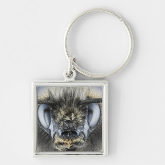 Head of bumblebee keychain