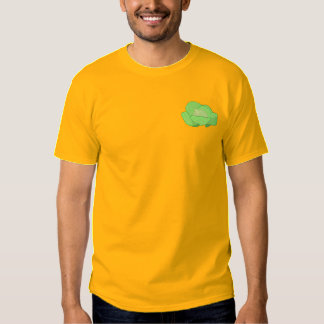 Head Of Cabbage Embroidered T-Shirt