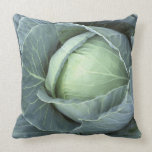 Head of cabbage with drops of water pillow