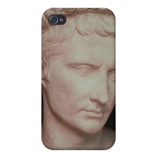 Head of Caesar Augustus Cases For iPhone 4