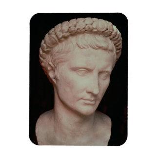 Head of Caesar Augustus Magnet
