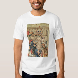 Head of Charlemagne , Tournai workshop T-shirt