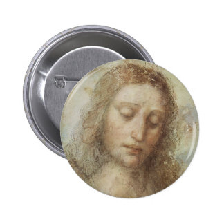 Head of Christ by daVinci Button