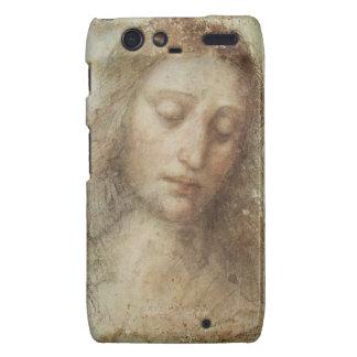 Head of Christ by Leonardo daVinci Motorola Droid RAZR Cases