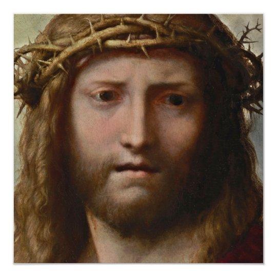 Head of Christ Correggio Card