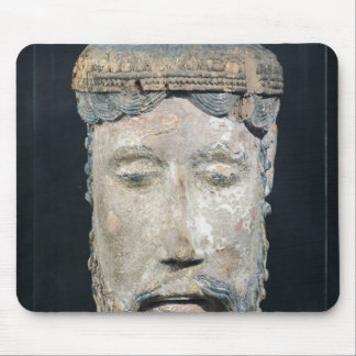 Head of Christ, from Lavaudieu Mouse Pad