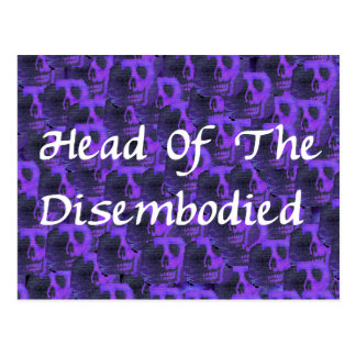 Head Of Disembodied Postcard