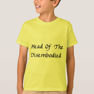 Head Of Disembodied T-Shirt